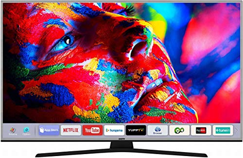 Sanyo 123 cm (49 inches) 4K Ultra HD Smart LED TV XT-49S8200U (Metallic)
