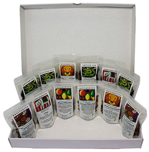 geschenke mit tee Teeprobierbox Winter - die winterliche Teebox mit tollen Wintertees