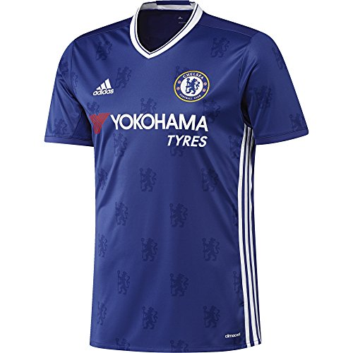 Adidas Chelsea FC Replica Domicile Maillot Homme, Blue/Blanc, FR (Taille Fabricant : XXL)