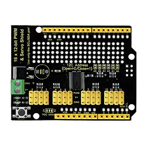 Keyestudio UNO I2C Module 16-Channel 12-bit PWM Servo Moteur Conducteur pour Arduino Starter Kit