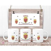 Mug AS MONACO personnalisé - Mug Association sportive de Monaco football club - cadeau anniversaire - cadeau de noël