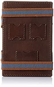 Swiss Military Brown Leather Wallet (LW-13)