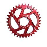DISCXUAN GXP Fahrrad Kurbelgarnitur Aluminiumlegierung 30T 32T 34T 36T 38T Schmale Breite Kettenblattkettenrad für Sram XX1 XO1 X1 GX XO X9 Kurbelgarnitur Fahrradteile Fahrradrotorzubehör für den Auße
