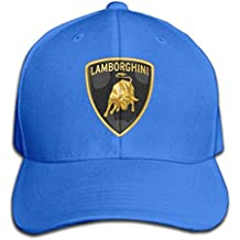 maneg Lamborghini Logo ajustable caza Peak gorro y Cap