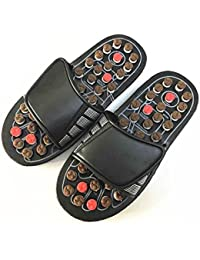 GFYWZ Sandales Chaussons colorés Chaussons de massage Adulte Unisexe Chaussures de maison Chaussures Reflexologie Chaussons , 3 , 37