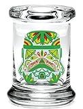 Sucre Trooper Pop Top Pot–Différentes tailles, Verre, XS