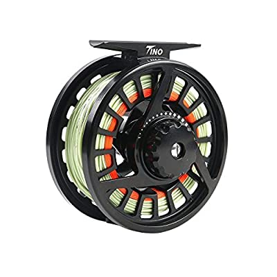 Maxcatch TINO Fly Fishing Reel in Large Arbor: 5/6 Weight Fly Reel by Maxcatch