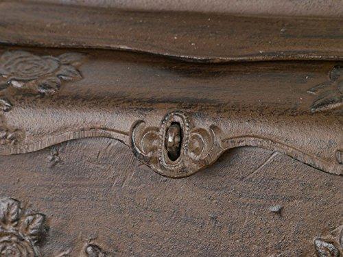 Briefkasten Wandbriefkasten Eisen Antikstil Landhausstil Shabby iron letterbox - 5