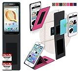 reboon Alcatel A30 Plus Hülle Tasche Cover Case Bumper   Pink   Testsieger