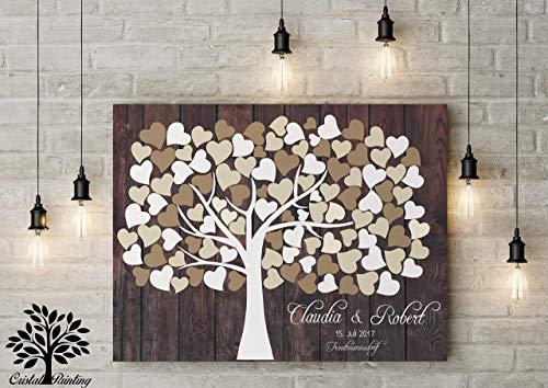 Wedding Tree | Rustikale Gästebuchalternative - 4