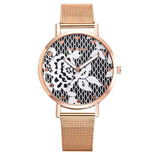 Uhren Damen Sport Uhr Quarz Schüler Uhren Handgelenk Analoge Uhr Diamant Leatheroid Band runden Zifferblatt Quarz-Armbanduhr Analoge Quarz Armbanduhr ABsoar