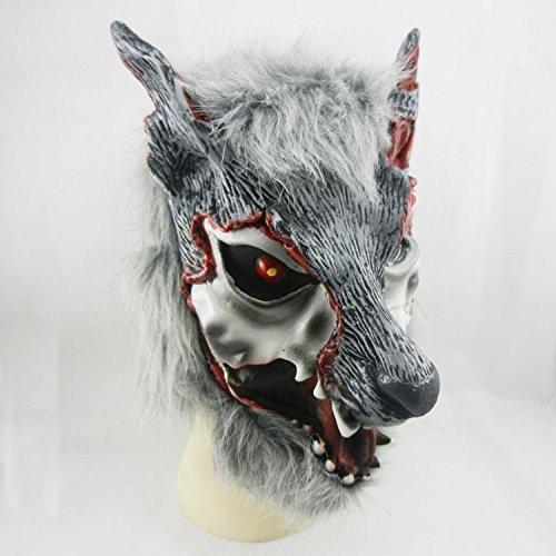 - Wolf Maskerade Maske