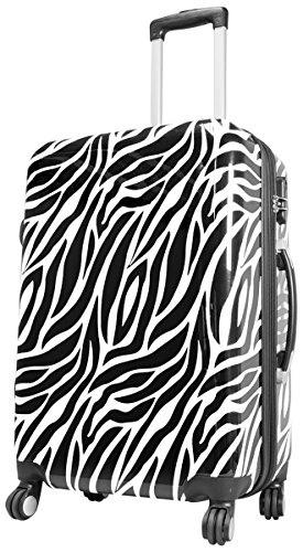 Zebra Blanc Valise trolley Beauty Case FA. Valise bowatex Multicolore L Koffer 67cm L
