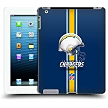 Official NFL Helmet Los Angeles Chargers Logo Hard Back Case for iPad 3 / iPad 4