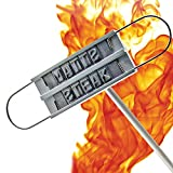 Bbq Branding Iron - 55 Cook Letters Set [ Barbecue Tool Kit ] Meat Brander for Steak and Burger