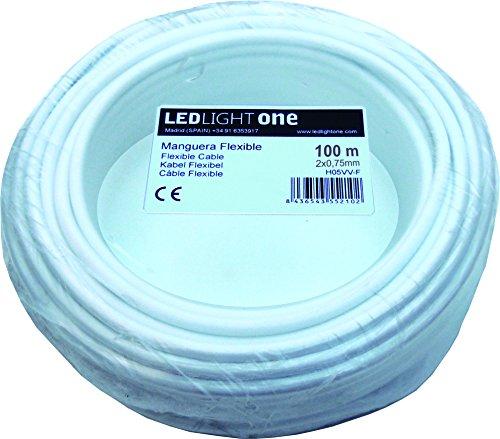 Cable H05VV-F Manguera 2x0