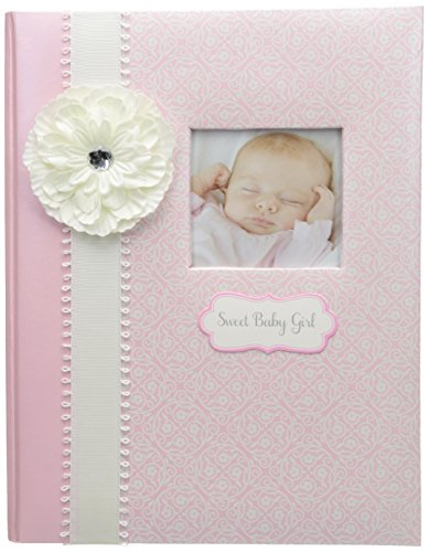 CR Gibson Babye First Memory Book - Ensemble cadeau bébé nouveau-né/Keepsake/Baby Journal (Bella) CR Gibson