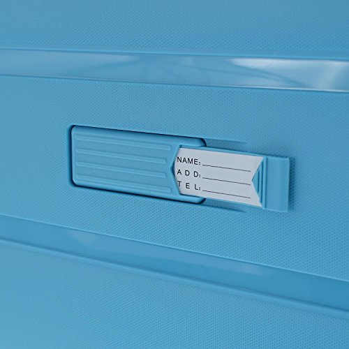 March Hartschalenkoffer aspen 4 Rad Koffer unbreakable 77 cm 113 Liter light blue lightblue