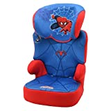 Nania Befix Group 2/3 Highback Booster Infant Car Seat, Disney Spiderman