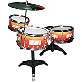 Takobell Drum Set With Stand (Colour May Vary)