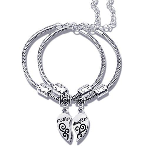 jiayiqi-2st-antike-silberne-armband-set-mutter-tochter-herz-charms-armband