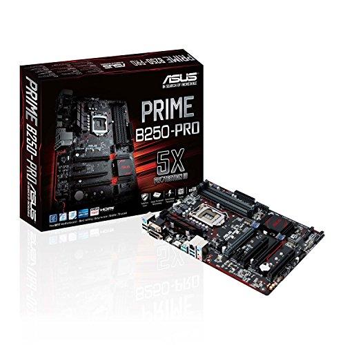 ASUS PRIME B250-PRO Scheda Madre, Socket 1151 ATX, Dual M.2, HDMI, USB 3.1