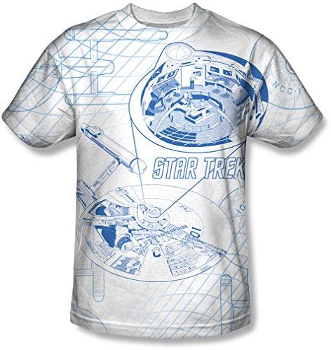 Star Trek - Mens Bridge Zoom T-Shirt