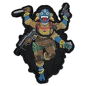 TACOPSGEAR Kamesgear Kali The Black 3D Patch Hindu Fantasy Airsoft Mystic Warriors by HIWEZ