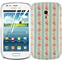 JAMMYLIZARD | Schutzhülle Blumenmotiv für Samsung Galaxy S3Mini, New Dawn