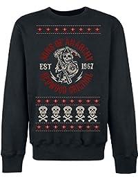 Sons Of Anarchy Redwood Original Christmas Sweater Sweat-shirt noir