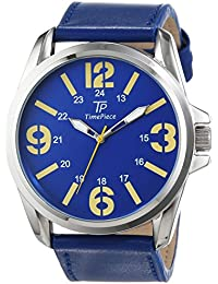 Time Piece Herren-Armbanduhr Young Fashion Analog Quarz Leder TPGA-90949-32L