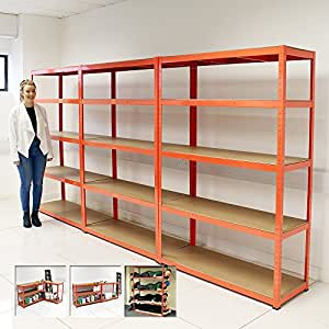 garage shelving systems set 3 heavy duty 5 tier shelf shelving units garage 15729
