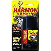 Harmon Scents–Triple Calor Hembra en Calor–Rub Sobre Aroma Stick–hthss–Whitetail Caza–Ciervo Caza Attractant–Doe estrous