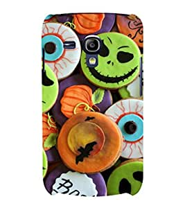 printtech Halloween Candy Sweets Back Case Cover for Samsung Galaxy S3 Mini::Samsung Galaxy S3 Mini i8190
