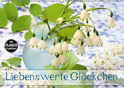 Liebenswerte Glöckchen (Wandkalender 2019 DIN A2 quer): Glockenblüten haben etwas Anrührendes (Geburtstagskalender, 14 Seiten ) (CALVENDO Natur)