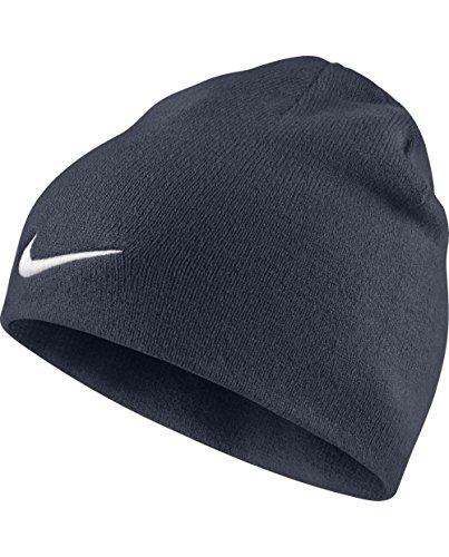 Nike Men Team Performance Beanie - Obsidian/White, One Size