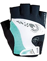 Roeckl Davilla Damen Fahrrad Handschuhe kurz schwarz/weiß 2017