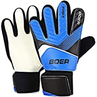Zorbes Boer Skid Resistant Finger-Save Child Goalkeeper Gloves