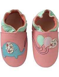 a47ac01991081 Amazon.fr   chausson cuir bébé - Tichoups   Chaussures   Chaussures ...