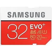 Brand New Samsung EVO Plus 32GB Micro SDHC classe 10UHS-I memory card fino a 80Mbps–Genuine Samsung imballaggio apertura facile–ideale per smartphone, tablet, Dash Cam e Action Camera