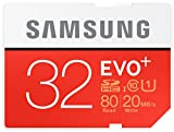 Brand New Samsung EVO PLUS 32 GB microSDHC Class 10 UHS-I Memory Card upto 80 Mbps - Frustration Free Genuine Samsung Packaging - Ideal Choice For Smartphones, Tablet, Dash Cams and Action Cameras