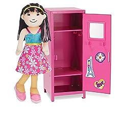 Manhattan Toy Groovy Girls Posh in Pink Locker Fashion Doll Accessory, Multi Color