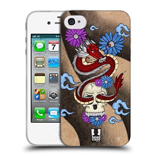 Head Case Designs Maki Temps De Sushi Étui Coque en Gel molle pour Apple iPhone 5 / 5s / SE Qiulong