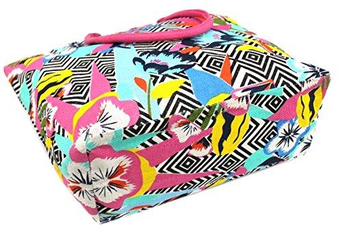Borsa mare Gian Marco Venturi mod.grande l.fantasia 44531 rosa