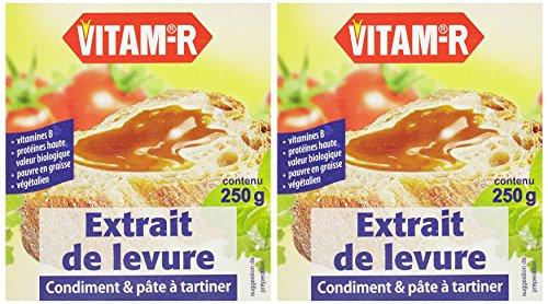 Vitam Vitam-R Extrait de levure Bio 250 g - Lot de 2
