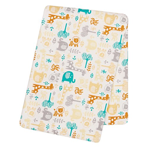 Trend Lab Lullaby Zoo Deluxe Flanelle Nid d'ange