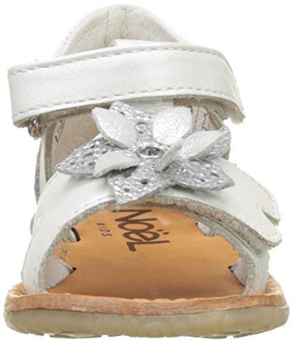 Noël Mini Sherry, Sandales Bébé Fille Blanc (Blanc)