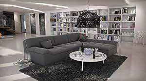 Sam ecksofa mistico in grau sofa 270 x 220 cm for Wohnlandschaft 270 cm