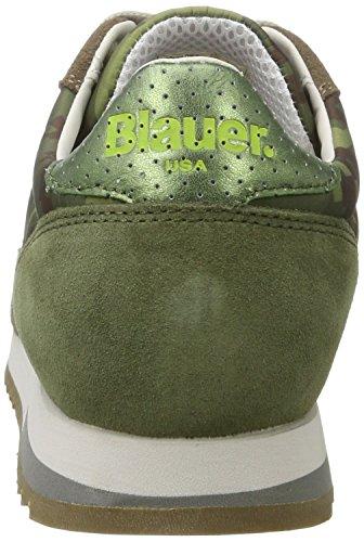 Blauer USA Runlow, Baskets Basses Homme Grün (Tarmac)