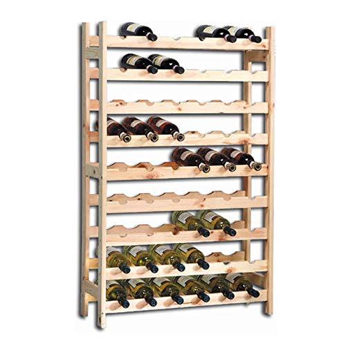 Wein Server Home Bar (Kesper 9Fach Wein Flasche, System aufzustellen, 73x 27x 120cm, beige)